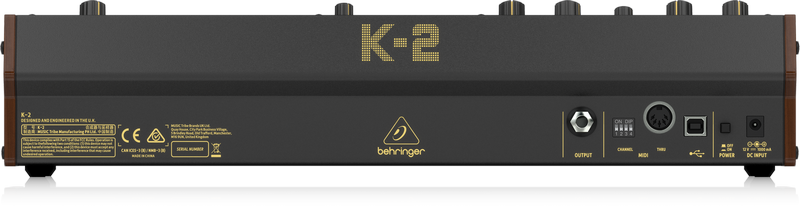 Behringer - X2C - CREA K-2-UK
