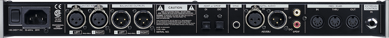 TC Electronic - ENTE M3000 Studio Reverb Processor