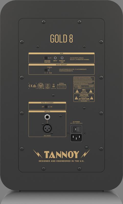 Tannoy - X2C - CREA GOLD 8-UK