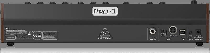 Behringer - CREA  PRO-1-UK