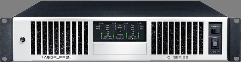 Lab Gruppen - X2B - ENTE C 68:4 Amp 4x1700W/4ohm 230V EU