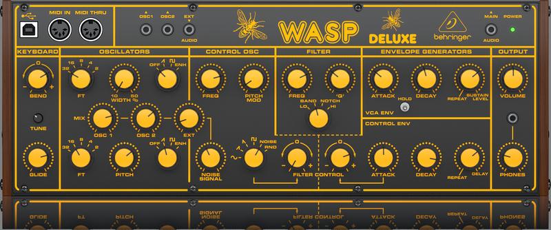 Behringer - X2C - CREA WASP DELUXE-UK