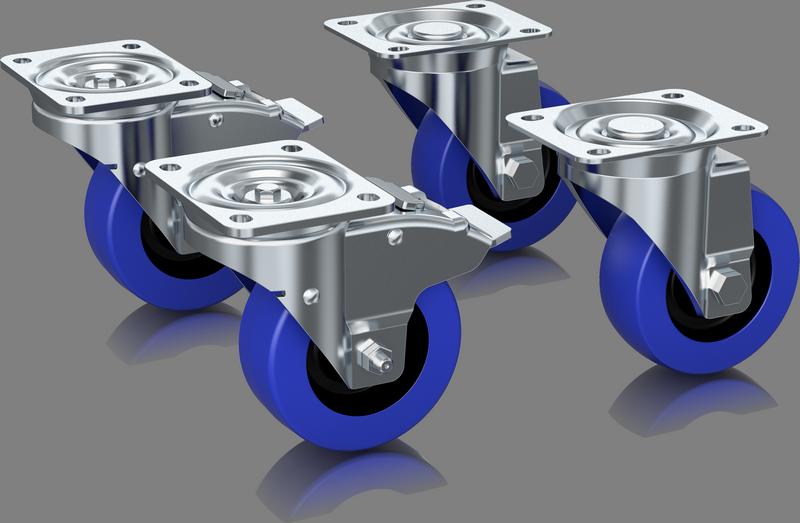 Turbosound - X2B - ENTE MANCHESTER WHEEL KIT