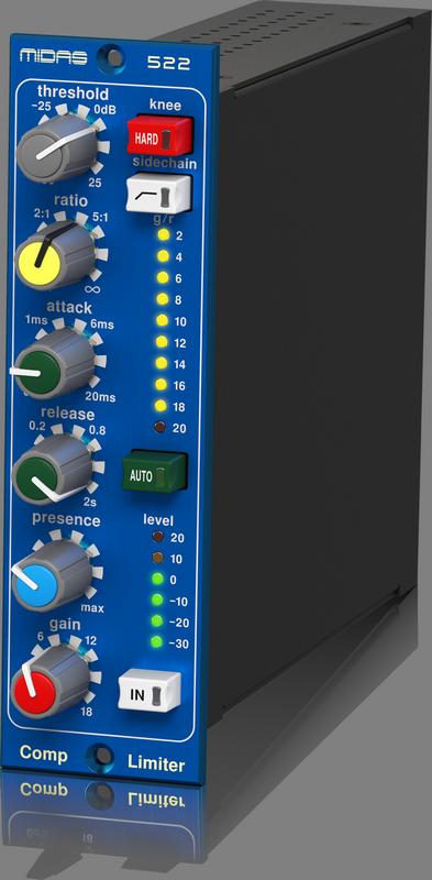 Midas - X2C - CREA COMPRESSOR LIMITER 522 V2