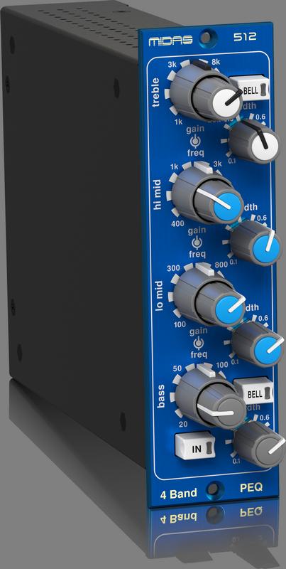 Midas - X2C - CREA PARAMETRIC EQUALISER 512 V2