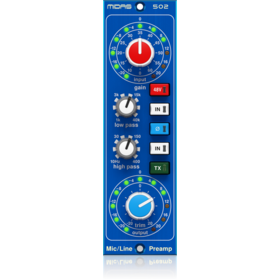 Midas - X2C - CREA MICROPHONE PREAMPLIFIER 502 V2