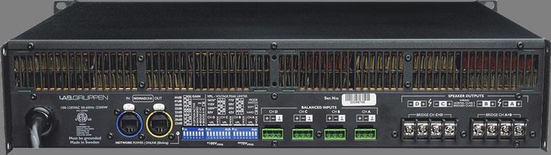 Lab Gruppen - X2B - ENTE C 28:4 Amp 4x700W/4ohm 230V EU