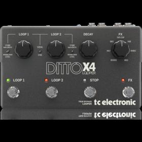 TC Electronic - X2C - CREA DITTO X4 LOOPER-UK