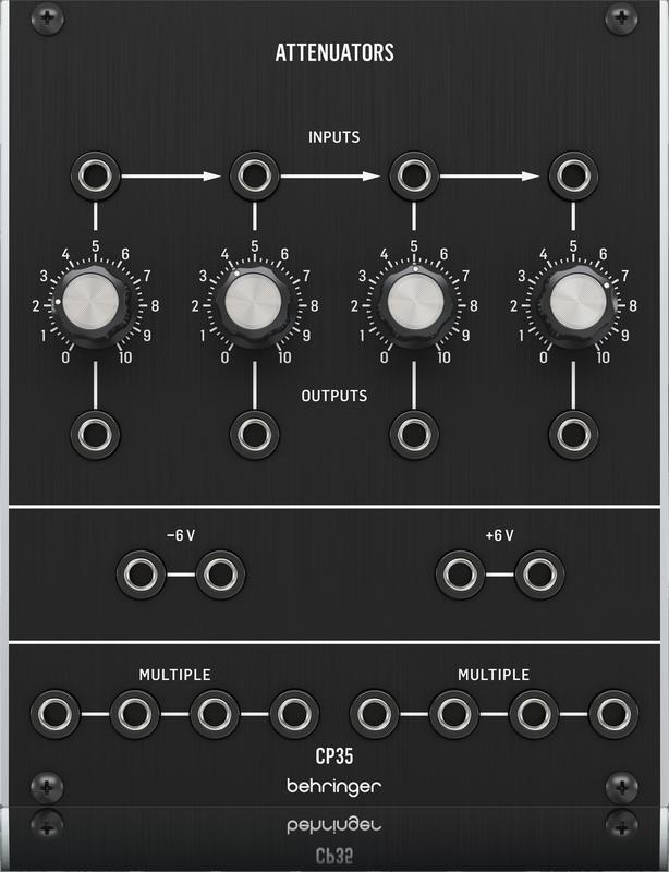 Behringer - X2C - CREA CP35 ATTENUATORS