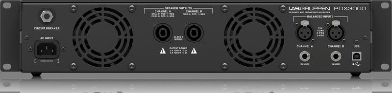 Lab Gruppen - X2C - CREA PDX3000-EU