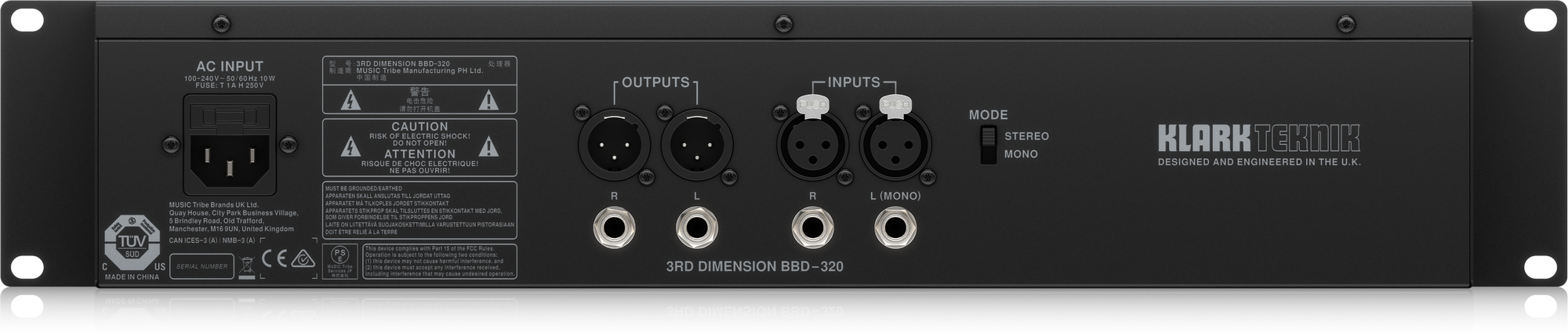 Klark Teknik - X2C - CREA 3RD DIMENSION BBD-320-EU