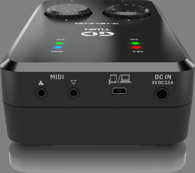 TC Helicon - X2C - CREA GO TWIN