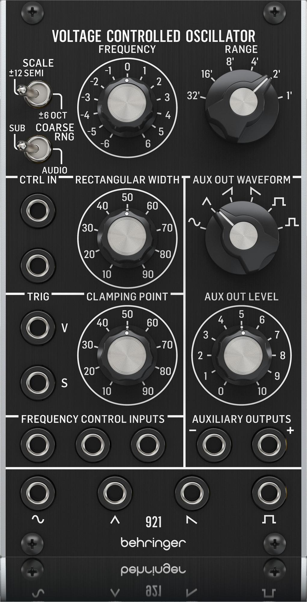 Behringer - X2C - CREA 921 VOLTAGE CONTROLLED OSCILLATOR