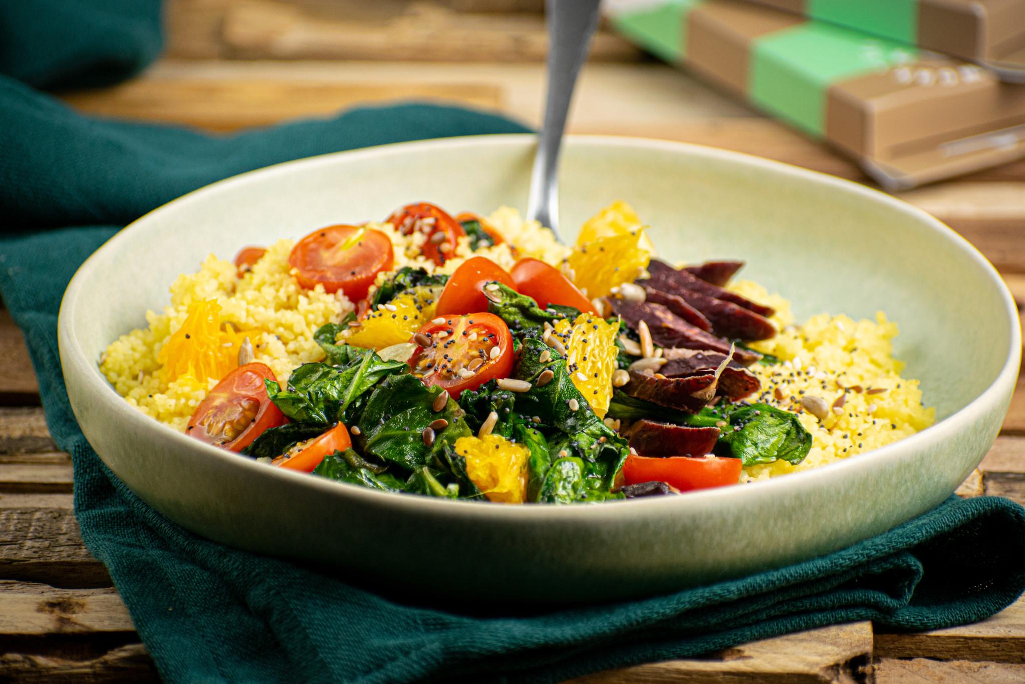 Recipe Alert! Mediterranean Bowl