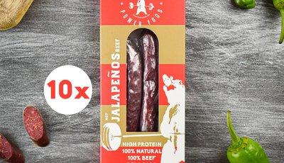 berwork Power sausage Jalapeño Beef Storage Pack  (500g)