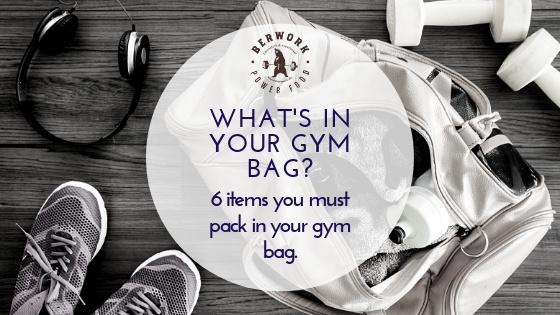 Was ist in Deiner Sporttasche drin?