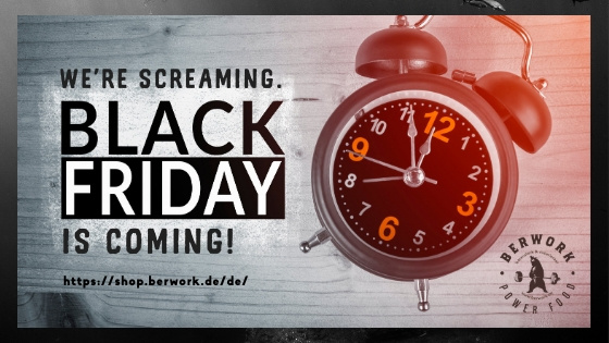 We're screaming. Black Friday is coming!