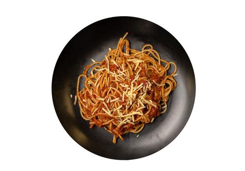 Rich-Meals Veganistische spaghetti bolognese