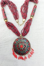 India hippy necklace