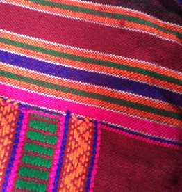 Shawl hand woven