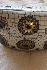 Jewel tas,  Avond Tasje van bijzondere Aard  - Wit