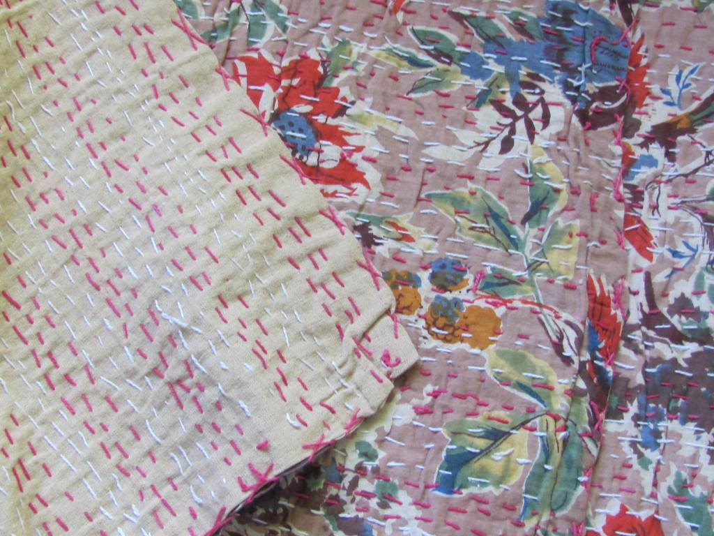 Bedspread hippy night India quilting   220 x 240cm