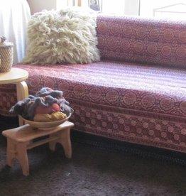 Beddensprei gudri, twee persoons bohemian Indiase quilting hippie retro slaapkamer sprei  -