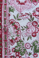 Bedsheet bohemian  on the bed, grand foulard -