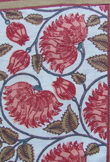 Bedsheet bohemian  on the bed, grand foulard
