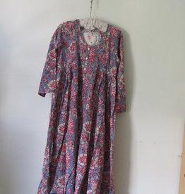 Block print dress
