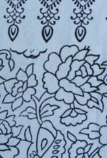 Bedsheet Bohemian colouring book ,  Indian bedspread, Grand Foulard , Tabel Cloth,