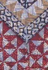 Bedspread  Gudri  double  the natural dyed bohemian  counterpane