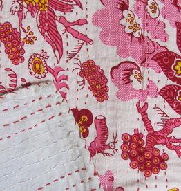 Beddensprei gudri, single  bohemian Indiase quilting retro slaapkamer sprei