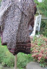 Sjaal,  Sarong,  Pareo , rok, 100%  Handbedrukt Katoen