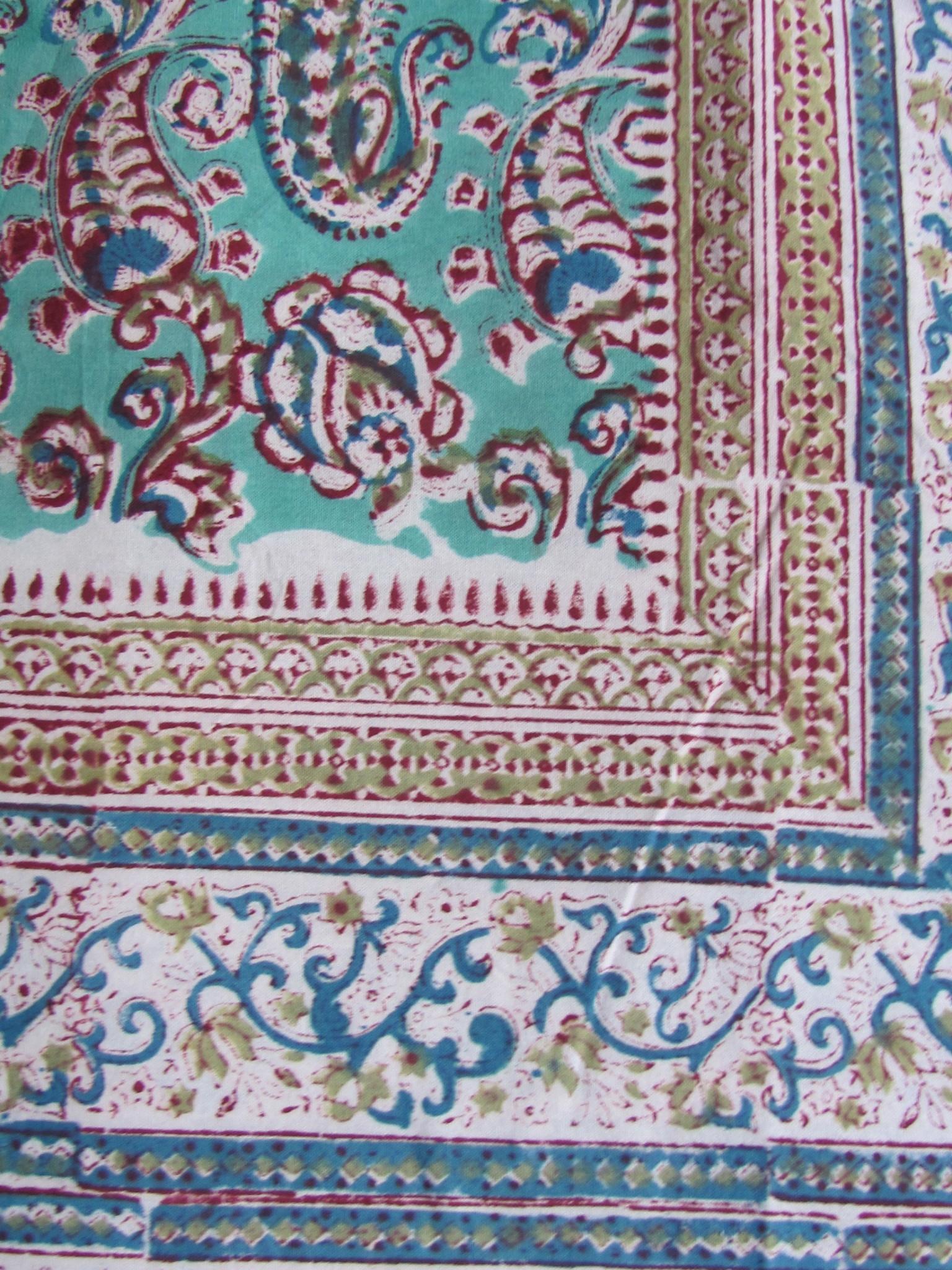 Grand Foulard , Indiase Beddensprei, Bohemian Slaapkamer,  tafelkleed,