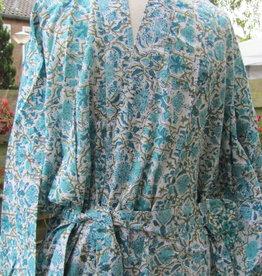Kimono, ochtendjas   100% katoen