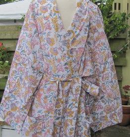 Kimono, dressing gown, bohemian lounge clothes,