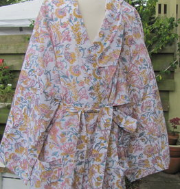 Kimono, ochtendjas, bohemian lounge kleding,