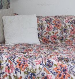 Bohemian katoen quilt  twee persoons