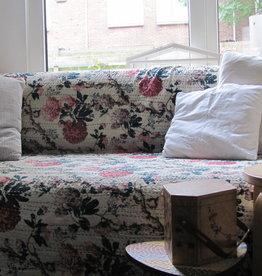 Beddensprei gudri, twee persoons bohemian statement romantische slaapkamer sprei