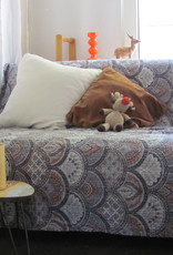 Beddensprei gudri, bohemian Indiase quilting hippie slaapkamer sprei  tweepersoons