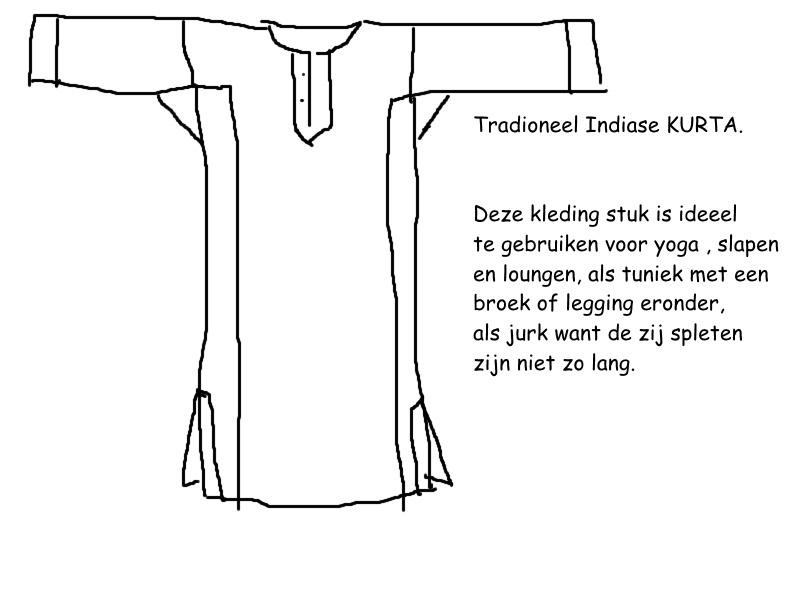 Kurta Tuniek ,Jurk,Yoga, Slaap, Huis  kleding, lounge kleding
