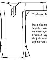 Kurta Tuniek , Jurk, Yoga, Nachtpon , Huis  kleding, lounge kleding
