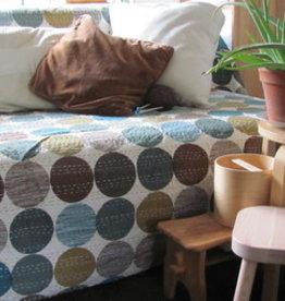 Beddensprei gudri, twee persoons  bohemian Indiase quilting retro slaapkamer sprei