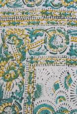 Bedsheet Bohemian Counterpane  , Grand Foulard,  Beach Picnic Cloth