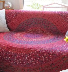 Beddensprei mandala, Grand foulard, Tabfelkleed,  muur versiering