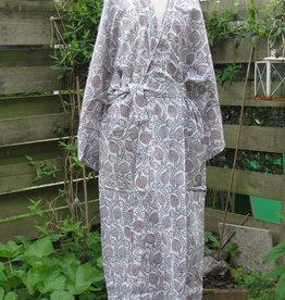 Kimono, ochtendjas, bohemian lounge kleding