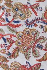 Bedsheet bohemian retro on the bed, grand foulard , tabel cloth, grand foulard,