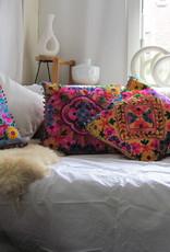 cushion cover susani embroiderd in Uzbeki style