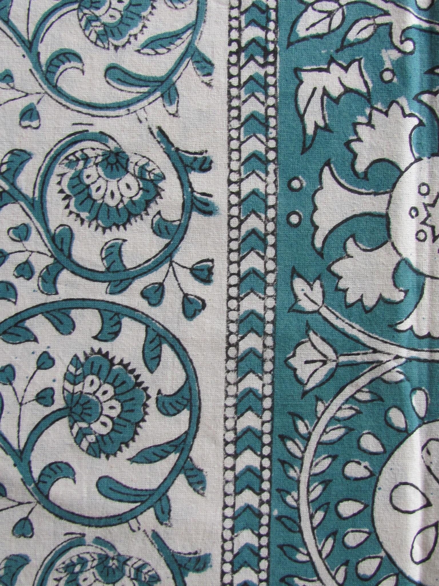 Beddensprei  kleurrijke Indiase slaapkamer,  grand foulard, tafelkleed